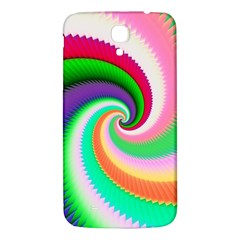 Colorful Spiral Dragon Scales   Samsung Galaxy Mega I9200 Hardshell Back Case by designworld65