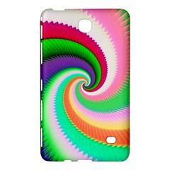 Colorful Spiral Dragon Scales   Samsung Galaxy Tab 4 (7 ) Hardshell Case  by designworld65