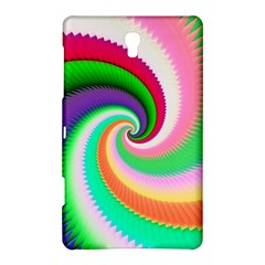 Colorful Spiral Dragon Scales   Samsung Galaxy Tab S (8 4 ) Hardshell Case  by designworld65