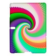 Colorful Spiral Dragon Scales   Samsung Galaxy Tab S (10 5 ) Hardshell Case  by designworld65
