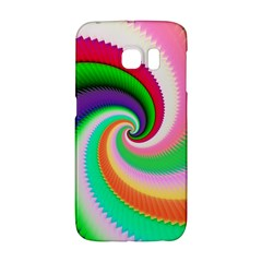 Colorful Spiral Dragon Scales   Galaxy S6 Edge by designworld65