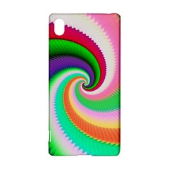 Colorful Spiral Dragon Scales   Sony Xperia Z3+ by designworld65