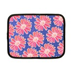 Pink Daisy Pattern Netbook Case (Small)  Front