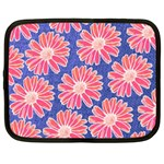 Pink Daisy Pattern Netbook Case (XL)  Front