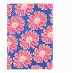 Pink Daisy Pattern Small Garden Flag (Two Sides)