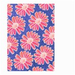 Pink Daisy Pattern Large Garden Flag (Two Sides)