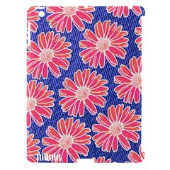 Pink Daisy Pattern Apple Ipad 3/4 Hardshell Case (compatible With Smart Cover) by DanaeStudio