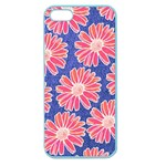 Pink Daisy Pattern Apple Seamless iPhone 5 Case (Color)