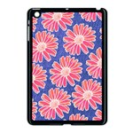 Pink Daisy Pattern Apple iPad Mini Case (Black) Front