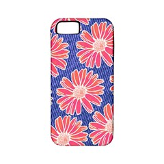 Pink Daisy Pattern Apple Iphone 5 Classic Hardshell Case (pc+silicone) by DanaeStudio