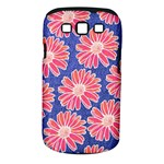 Pink Daisy Pattern Samsung Galaxy S III Classic Hardshell Case (PC+Silicone)