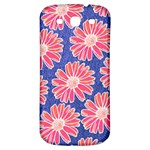 Pink Daisy Pattern Samsung Galaxy S3 S III Classic Hardshell Back Case