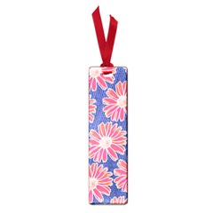 Pink Daisy Pattern Small Book Marks by DanaeStudio