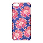 Pink Daisy Pattern Apple iPod Touch 5 Hardshell Case with Stand