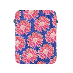 Pink Daisy Pattern Apple Ipad 2/3/4 Protective Soft Cases by DanaeStudio