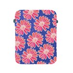 Pink Daisy Pattern Apple iPad 2/3/4 Protective Soft Cases