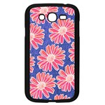 Pink Daisy Pattern Samsung Galaxy Grand DUOS I9082 Case (Black) Front