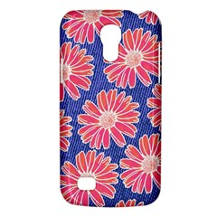 Pink Daisy Pattern Galaxy S4 Mini by DanaeStudio