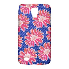 Pink Daisy Pattern Galaxy S4 Active by DanaeStudio