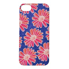 Pink Daisy Pattern Apple Iphone 5s/ Se Hardshell Case by DanaeStudio