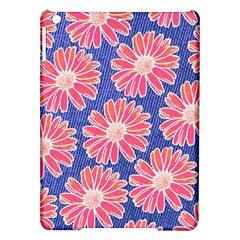 Pink Daisy Pattern Ipad Air Hardshell Cases by DanaeStudio