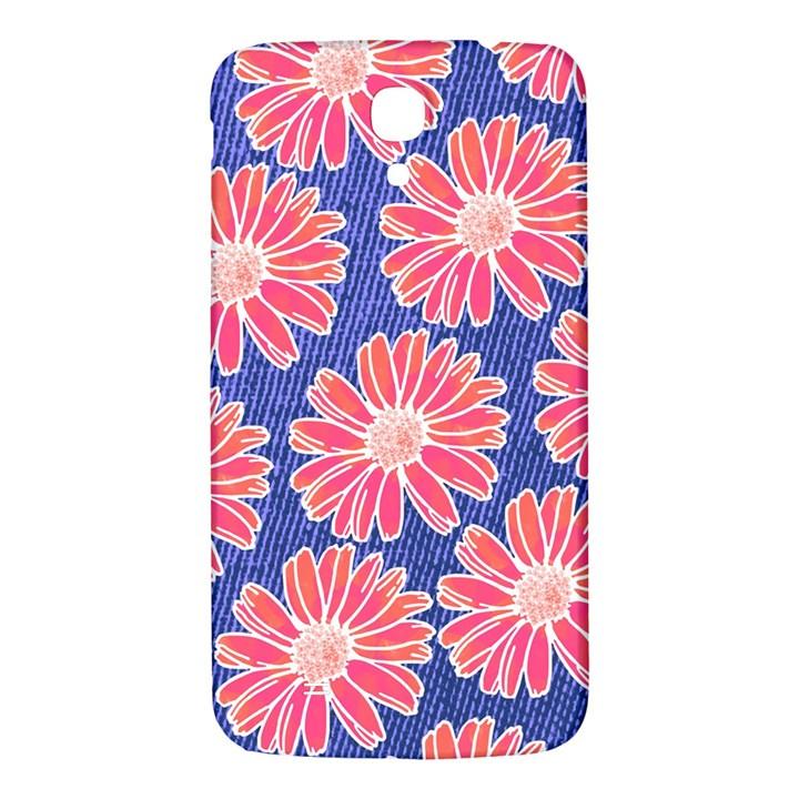 Pink Daisy Pattern Samsung Galaxy Mega I9200 Hardshell Back Case