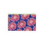 Pink Daisy Pattern Cosmetic Bag (XS) Back