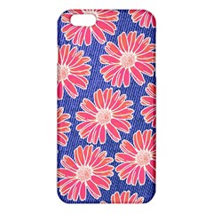 Pink Daisy Pattern Iphone 6 Plus/6s Plus Tpu Case by DanaeStudio