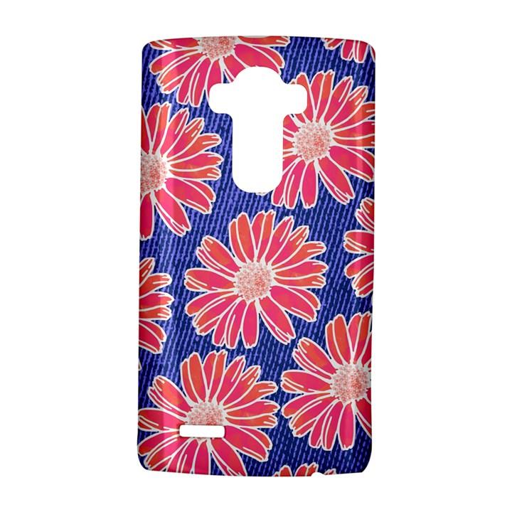 Pink Daisy Pattern LG G4 Hardshell Case