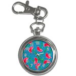 Carnations Key Chain Watches Front