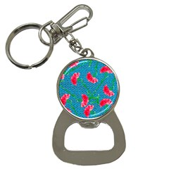 Carnations Bottle Opener Key Chains by DanaeStudio