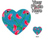 Carnations Playing Cards 54 (Heart)  Front - Club7