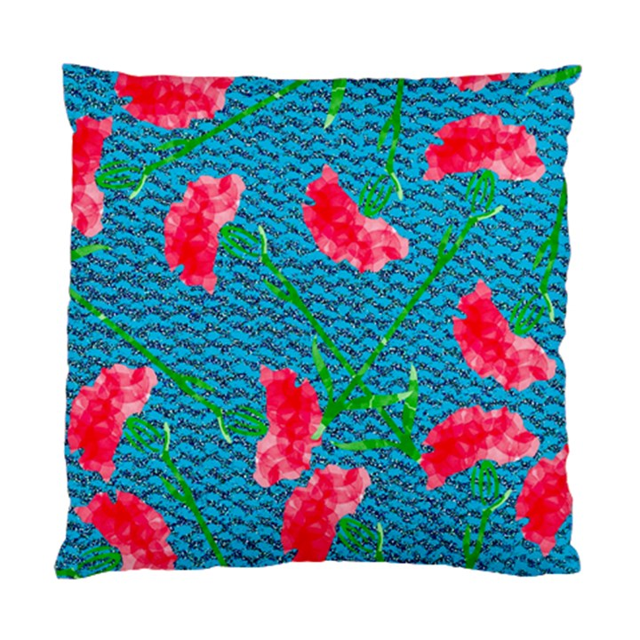 Carnations Standard Cushion Case (Two Sides)