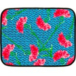 Carnations Fleece Blanket (Mini) 35 x27 Blanket
