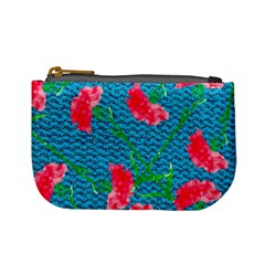 Carnations Mini Coin Purses