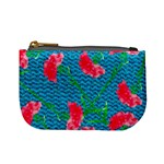 Carnations Mini Coin Purses Front