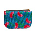 Carnations Mini Coin Purses Back