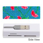 Carnations Memory Card Reader (Stick)  Front