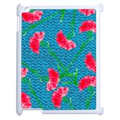 Carnations Apple Ipad 2 Case (white)