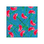 Carnations Acrylic Tangram Puzzle (4  x 4 ) Front