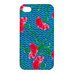 Carnations Apple Iphone 4/4s Premium Hardshell Case by DanaeStudio