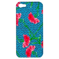 Carnations Apple Iphone 5 Hardshell Case