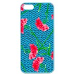 Carnations Apple Seamless iPhone 5 Case (Color) Front