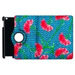 Carnations Apple iPad 3/4 Flip 360 Case Front