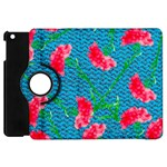 Carnations Apple iPad Mini Flip 360 Case Front