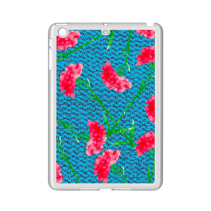 Carnations iPad Mini 2 Enamel Coated Cases