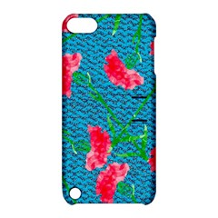 Carnations Apple Ipod Touch 5 Hardshell Case With Stand by DanaeStudio