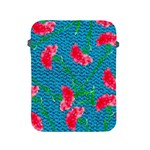 Carnations Apple iPad 2/3/4 Protective Soft Cases Front