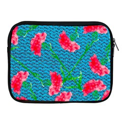 Carnations Apple Ipad 2/3/4 Zipper Cases