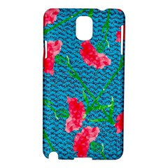 Carnations Samsung Galaxy Note 3 N9005 Hardshell Case by DanaeStudio